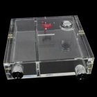 WT-038 Acrylic SATA Radiator Case - Transparent