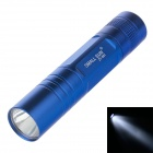 Small Sun ZY-551 50lm 6000K White Light Mini Flashlight - Blue (1x AA Battery)