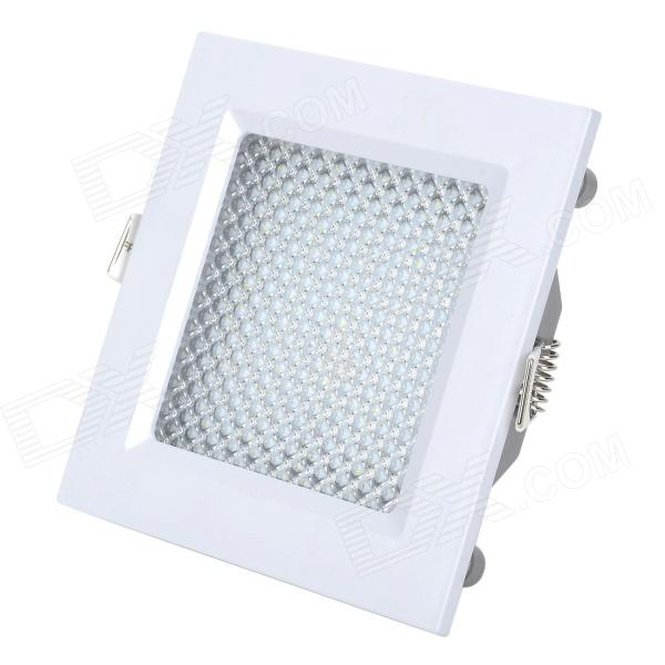 5W 450lm 6000K 25 SMD 2835 LED White Light Square LED Panel Ceiling Lamp - White (85~265V) kinfire square shaped 15w 1320lm 75 smd 3528 led white light ceiling lamp w driver ac 85 265v