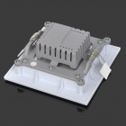 5W 450lm 6000K 25 SMD 2835 LED White Light Square LED Panel Ceiling Lamp - White (85~265V)