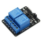 DIY PC817 2-Channel 5V Relay Module w/ Optocoupler  Extension Board - Blue