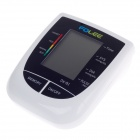 "FOLEE 3.2"" Screen Display Automatic Electronic Blood Pressure Monitor - White (4 x AA)"
