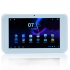 "ELLY BEAN 7021A 7"" Dual Core Android 4.1 WCDMA Tablet PC w/ 512MB RAM, 8GB ROM, Wi-Fi, Camera -White"
