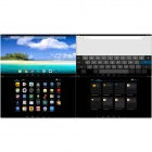 "Sosoon X12 11,6 ""Quad Core Android 4.2.2 Tablet PC m / 1 GB RAM, 16 GB ROM, HDMI - Sølv + Svart"