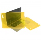 "ENKAY Crystal Hard Protective Case for MacBook Pro 15.4"" with Retina Display - Translucent Yellow"