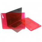 "ENKAY Crystal Hard Protective Case for ""15-inch MacBook Pro with Retina Display"" - Translucent Red"