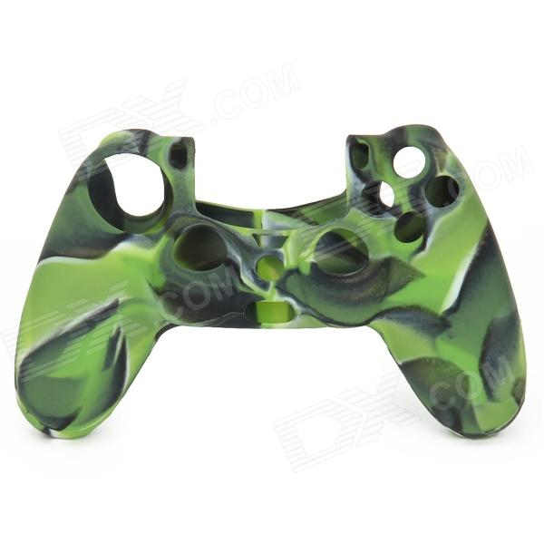 Protective Silicone Case for PS4 Controller - Camouflage Green