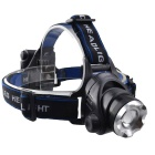 RichFire SF-535 800LM XML T6 3-Mode White Zoomable Focus LED Flashlight Headlamp - Black + Sliver