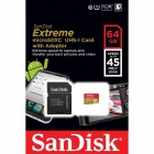 SanDisk 64GB Mobile Extreme 300x MicroSDXC UHS-I Flash Memory Cards 45MB/s