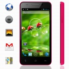 "KICCY MTK6582 Quad-Core Android 4.2 WCDMA Bar Phone w/ 4.5"" IPS, Wi-Fi, GPS, ROM 4GB -  Pink"