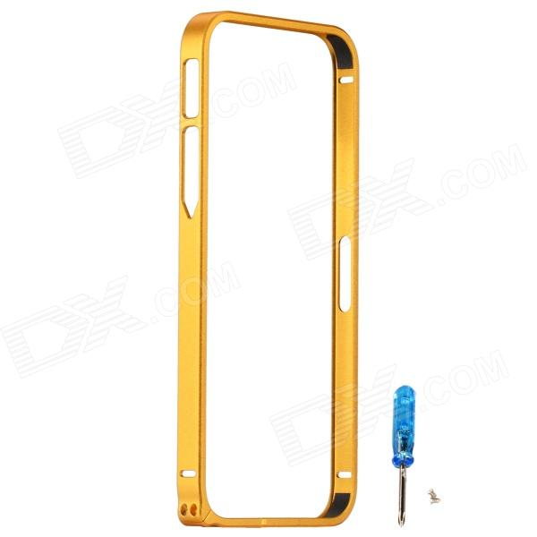 Zomgo Fashionable Metal Protective Bumper Frame for Iphone 5 / 5s - Gold iphone 5s gold б у 15 000