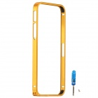 Zomgo Fashionable Metal Protective Bumper Frame for Iphone 5 / 5s - Gold