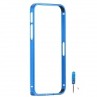 Zomgo Fashionable Metal Protective Bumper Frame for Iphone 5 / 5s - Blue
