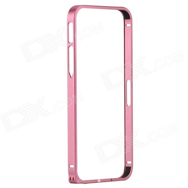 Zomgo Fashionable Metal Protective Bumper Frame for Iphone 5 / 5s - Pink s what protective metal bumper frame for iphone 5 5s deep pink