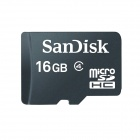 SanDisk 16GB microSDHC Flash Memory Cards