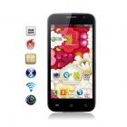 "Catee CT100 MTK6572 Dual-core Android 4.2 WCDMA Bar Phone w/4.5"", GPS , 512MB RAM, 4GB ROM - Black"