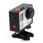 PANNOVO Protective Side Frame w/ Screws + Push Buckle for GOPRO HERO3