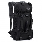 LKLR 423 Outdoor Mountaineer Nylon Backpack - Black (38L)