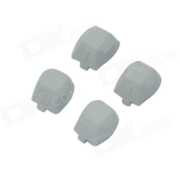 Hubsan H107D-A02 Rubber Feet for X4 H107D FPV RC Quadcopter - Light Grey (4 PCS) hubsan h107d 4ch rc quadcopter