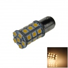 1157 / BAY15D 6W 300lm 27*SMD 5050 LED Warm White Car Lamp (12V)