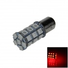 1157 / BAY15D 6W 300lm 27 x SMD 5050 LED Red Car Backup Light / Brake Lamp / Signal light - (12V)