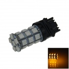 3157 / 3156 6W 300lm 27 x SMD 5050 LED Yellow Car Steering / Brake / Backup / Tail Lamp - (12V)