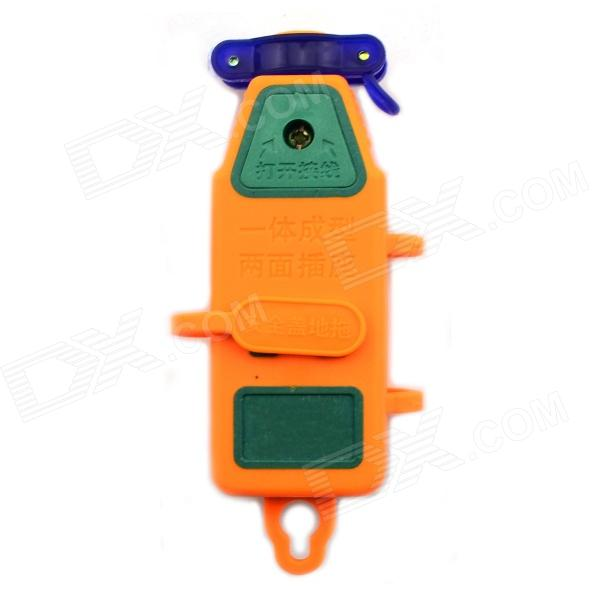 2500W 16A 250V Power Outlet - Orange