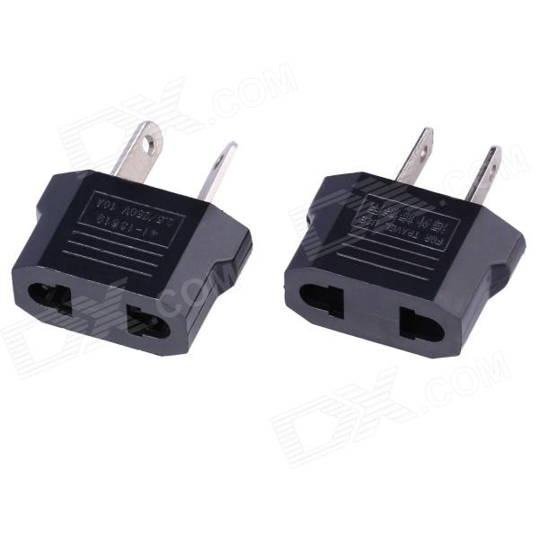 US Socket to AU Plug AC Power Adapter Plug + AU Socket to US Plug AC Power Adapter Plug (2 PCS)