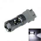 3157 / 3156 60W 600lm 12 x Cree XB-D R3 White Car Brake Light / Steering / Backup Lamp - (12~24V)