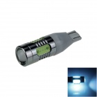T15 / T13 / 921 7.5W 400lm 5-LED Ice Blue Car Clearance lamp / Side / Backup light- (12~24V)