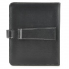 "Ultra-Thin Micro USB Keyboard PU Leather Case for 9.7"" Tablet PC - Black"