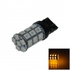 7443 / 7440/T20 6W 300lm 27 x SMD 5050 LED Yellow Car Steering / Brake / Backup / Tail Light - (12V)