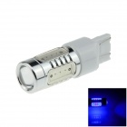 7443 / 7440 / T20 7.5W 400lm 5-LED Blue Car Steering Light / Tail Lamp / Signal light - (12~24V)