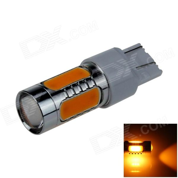 7443 / 7440 / T20 7.5W 400lm 5-LED Yellow Car Steering Light / Tail Lamp / Signal light - (12~24V)