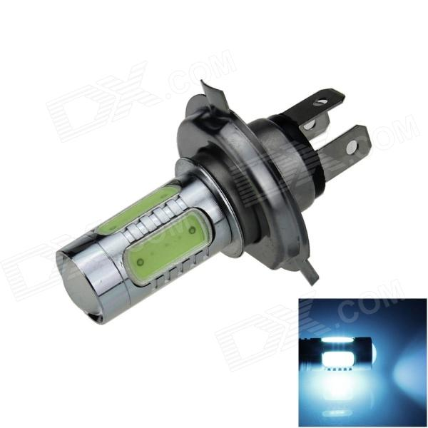 H4 7.5W 400lm 5-LED Ice Blue Light Car Foglight / Headlamp / Tail Light - (12~24V)