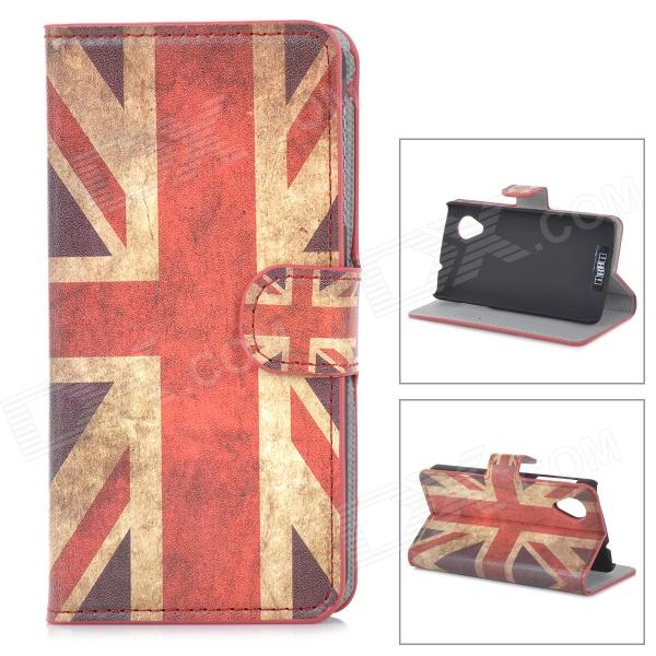 IKKI Retro Flag of UK Style PU Leather Flip-Open Case w/ Stand for LG Nexus 5 - White + Red - DXLeather Cases<br>Color White + Red + Multi-Colored Brand IKKI Model N/A Material PU leather Quantity 1 Piece Compatible Models LG Nexus 5 Other Features Two card slots design stand function for better viewing; Protects the cell phone from dust shock and scratches. Packing List 1 x Case<br>