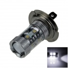 H7 60W 500lm 12 x Cree XB-D R3 Polarity Free White Car Foglight / Headlamp / Tail Light - (12~24V)