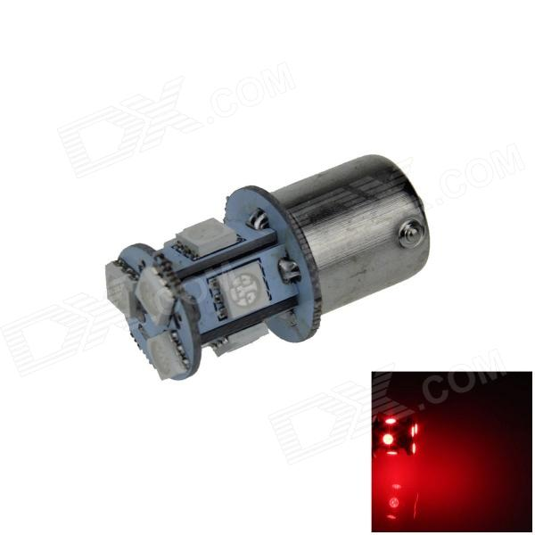 1141 / BA15S / 1156 / G18 2W 120lm 8 x SMD 5050 LED Red Car Signal Light / Steering Lamp - (12V)