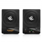 CAMAC CMK-838N AC Power Portable Speaker for PC / Laptop - Black
