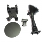 FLY S2158-Q Car Suction Cup Holder Bracket for Mobile Phone / GPS / MP4 / PDA - Black