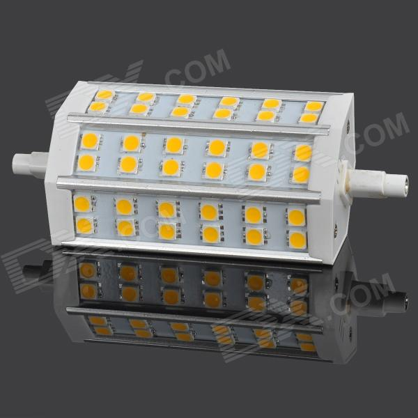 SENCART R7S 8W 450lm 3300K 36 x SMD 5060 LED Warm White Lamp (AC 85~265V) lexing lx r7s 2 5w 410lm 7000k 12 5730 smd white light project lamp beige silver ac 85 265v