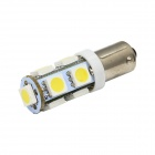 Merdia BA9S 1W 170lm 9 x SMD 5050 LED White Car Clearance / Instrument / Indicator Lamp (12V / 2PCS)