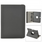 Protective 360 Degree Rotation PU Leather Case for Samsung Note 10.1 2014 Edition P601/P600 - Black