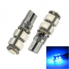 Merdia T10 5W 126lm 9 x SMD 5050 LED Error Free Canbus Blue Light Car Clearance Lamp (12V / 2 PCS)