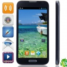 "F240W(F240) MTK6572 Dual-core Android 4.2.2 WCDMA Bar Phone w/ 5.3"", Wi-Fi, GPS - Black + Blue"