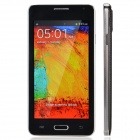 "W9000 4.7"" Capacitive Screen Android 4.3 Bar Phone w/ 512MB RAM, 4GB ROM - Black + Silver"