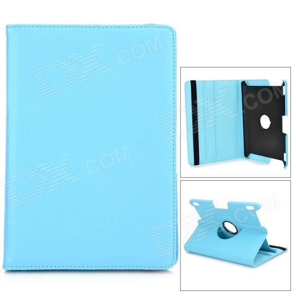 Protective 360 Degree Rotation PU Leather Case for Amazon Kindle Fire HDX8.9 - Blue lychee grain protective 360 degree rotation pu leather case for amazon kindle fire hd 7 black
