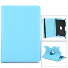 Protective 360 Degree Rotation PU Leather Case for Amazon Kindle Fire HDX8.9 - Blue
