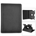 Protective 360 Degree Rotation PU Leather Case for Amazon Kindle Fire HDX8.9 - Black