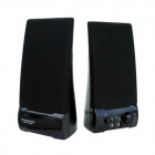 CAMAC CMK-160 USB Power Portable Music Speaker for PC / Laptop - Black